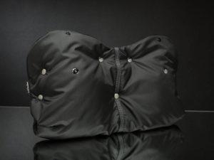 Муфта для рук на коляску ЧЕРНАЯ U.D.LINDEN «BLACK-FLEECE»