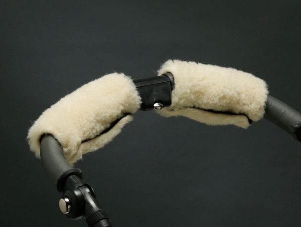 Муфта для рук на коляску белая U.D.LINDEN «POLAR BEAR»