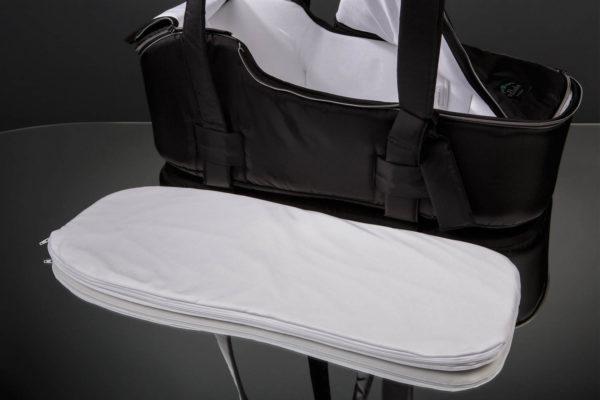 Сумка переноска для новорожденных черная U.D.LINDEN EINZELBOOT «BLACK»