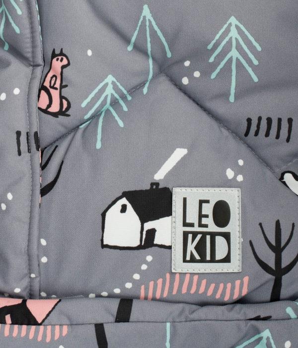 Конверт для коляски LeoKid classic «Village»
