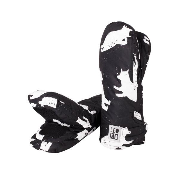 Муфты-варежки для коляски LeoKid «Bears»
