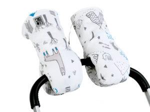 Муфты-варежки для коляски LeoKid «Lamas Camp»