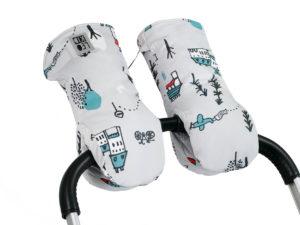 Муфты-варежки для коляски LeoKid «Cute Park»