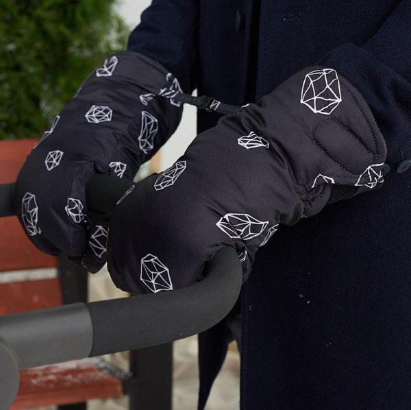 Муфты-варежки для коляски LeoKid «Cosmic»