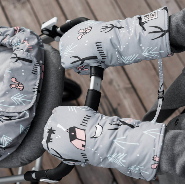 Муфты-варежки для коляски LeoKid «Village»