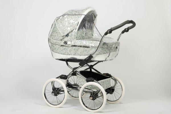 Чехол от дождя (дождевик) на коляску люльку Ruivo