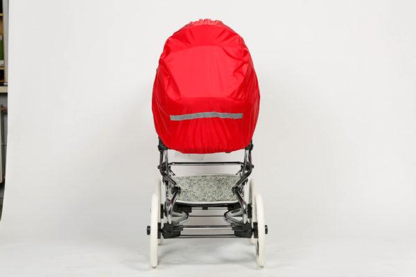 Чехол от снега и дождя на коляску люльку (ткань) Ruivo