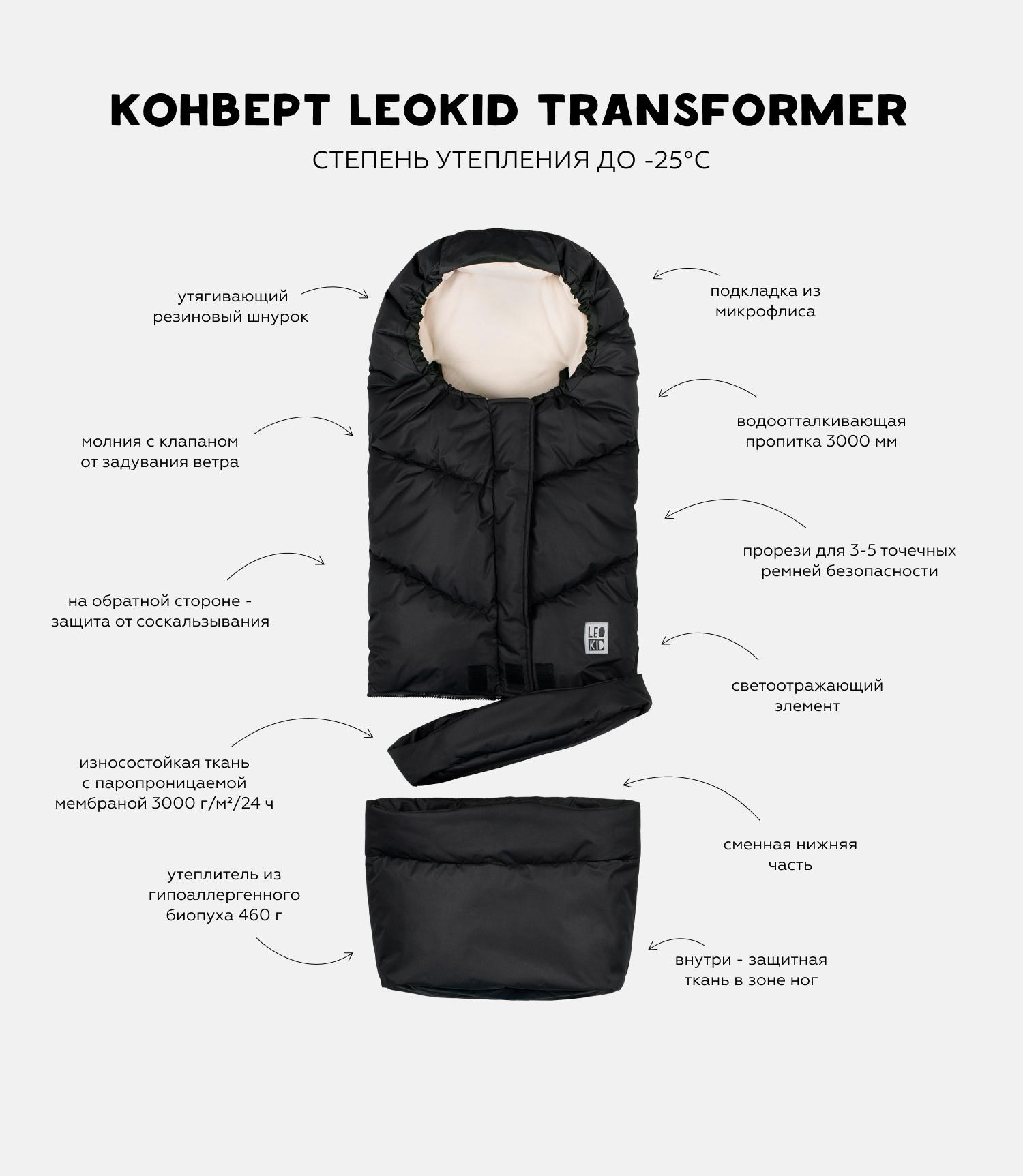 """Описание конверт-трансформер Leokid """"Black"""""""